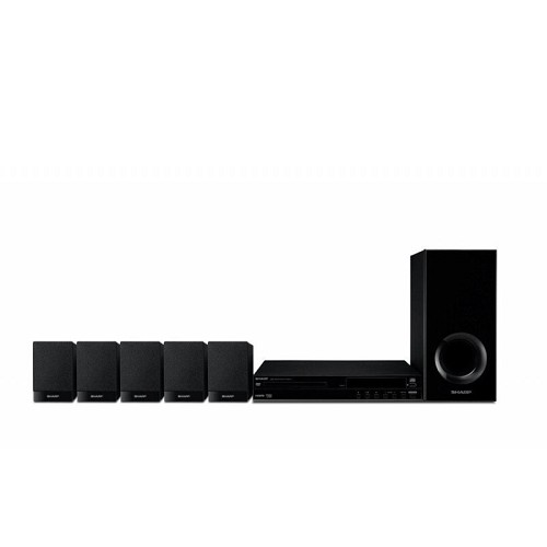 SHARP Home Theater 5.1ch [HT-CN310DVW] - Home Theater System